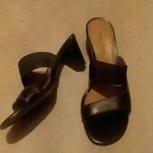 Naturalized Heeled Sandal